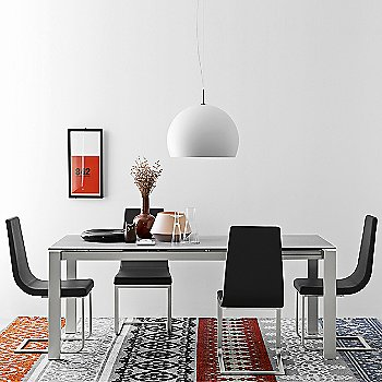 Baron Extending Table with Cruiser Chair - Cantilever Base