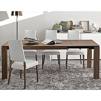 Sigma Extending Table with Sandy Skuba Chair