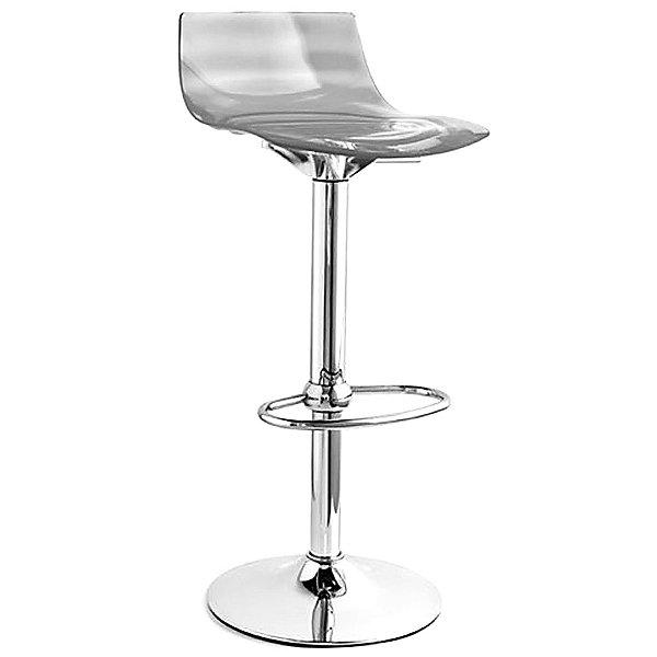 L'Eau Swivel Stool -  Rounded Profile Footrest