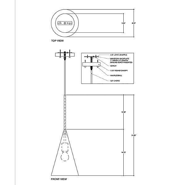 Baird Mini Pendant Light
