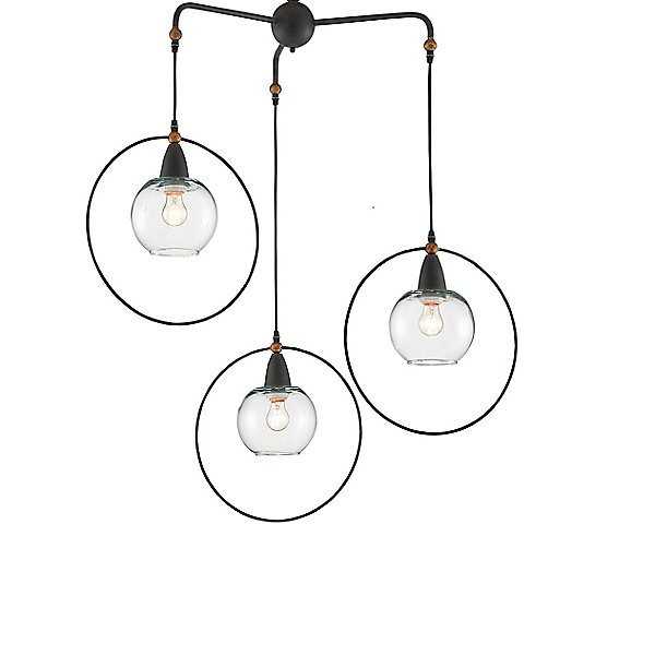 Moorsgate Multi-Light Pendant Light