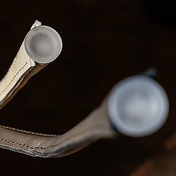 Black / Satin Bronze Base Finish / Small size / Detail view