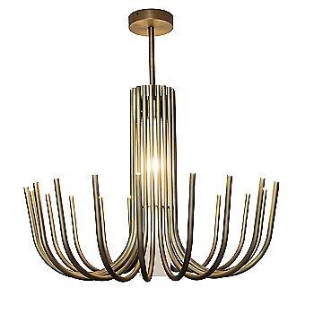 Matte Light Satin Bronze finish / Medium size, detail
