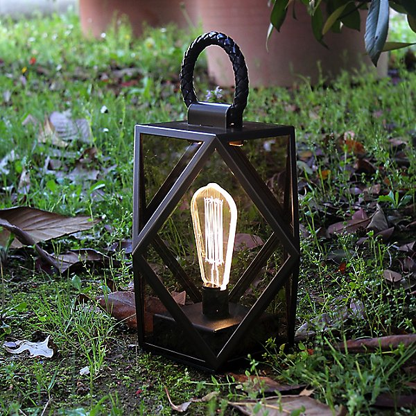 Muse Outdoor LED Lantern with Battery