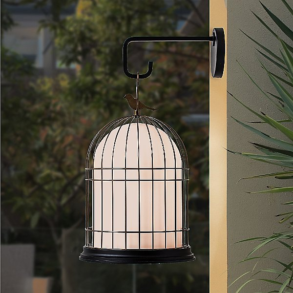 Freedom Birdcage Outdoor Light Wall Hook Accessory