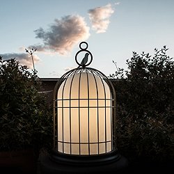 Freedom Birdcage Rechargeable LED Outdoor Light