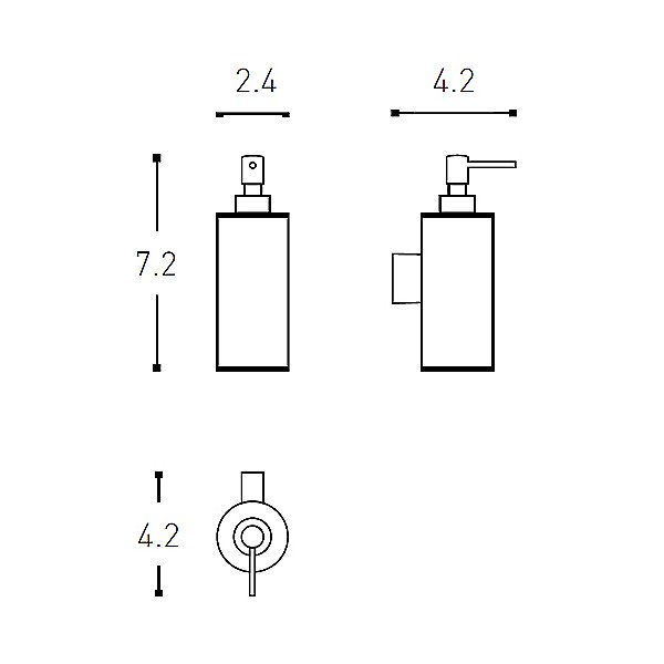 Architect Soap Dispenser