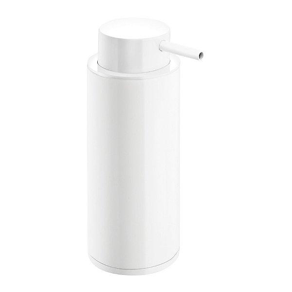 Black & White Free Standing Soap Dispenser