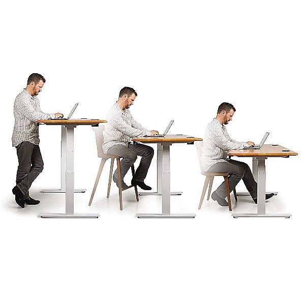 Invigo Sit-Stand Desk with Modesty Panel