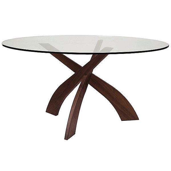 Copeland Furniture Statements Entwine, Glass Table Top 60 Inch Round