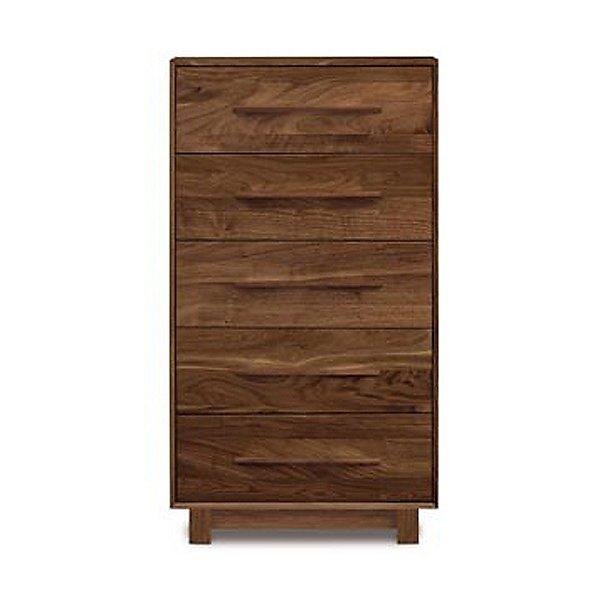 Sloane Five Drawer Dresser - Narrow