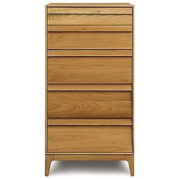 Rizma 5 Drawer Dresser - Narrow / front view