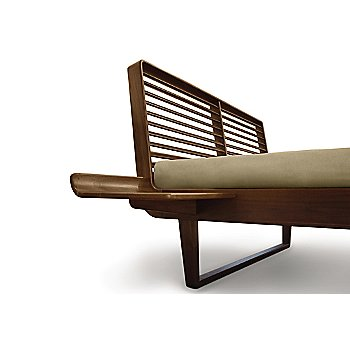 Shown in Natural Walnut, Left Shelf