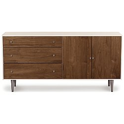MiMo 3 Drawer 2 Door Dresser