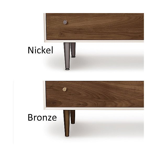 MiMo 4 Drawer + 1 Drawer Over 2 Doors Dresser