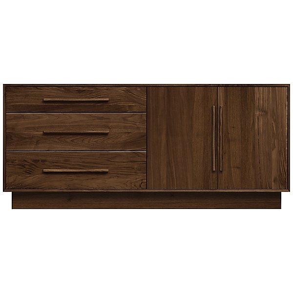 Moduluxe Three-Drawer, Two-Door Dresser, 29-Inch High