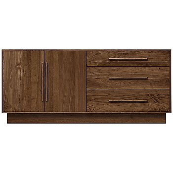 Shown in Natural Walnut, Left