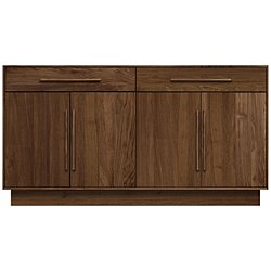 Moduluxe Two-Drawer over Four-Door Dresser, 35-Inch High