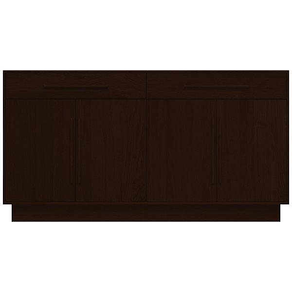 Moduluxe Two-Drawer over Four-Door Dresser, 35-Inch High