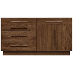 Moduluxe Five-Drawer, Two-Door Dresser, 35-Inch High