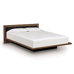 Moduluxe 29-Inch Platform Bed with Microsuede Headboard