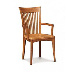 Sarah Armchair With Wood Seat