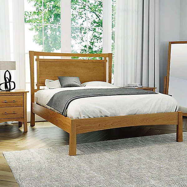 Monterey Bed with Upholstered Panel, Full