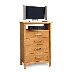 Monterey Four-Drawer Dresser + TV Organizer