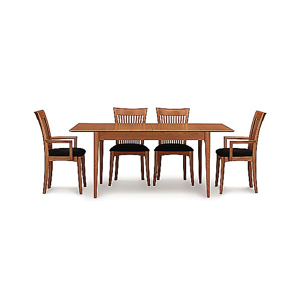 Sarah Four Leg Extension Table, 72 X 38 Inches