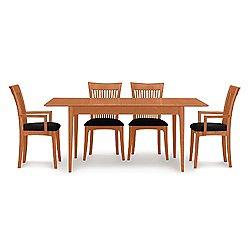 Sarah Four Leg Extension Table, 66 X 38 Inches