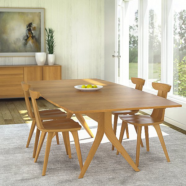 Catalina Four Leg Extension Table, 72 X 40 Inches