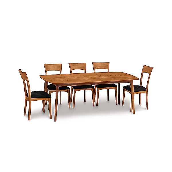 Catalina Cherry Fixed Table Top Dining Table, 78 X 40 Inches