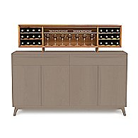Optional Cherry Hutch for Catalina Buffets