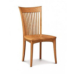 Sarah Side Chair With Wood Seat