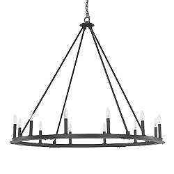 Pearson Conical Chandelier (Medium) - OPEN BOX RETURN