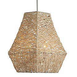 Jute Large Pendant by Capital Lighting - OPEN BOX RETURN