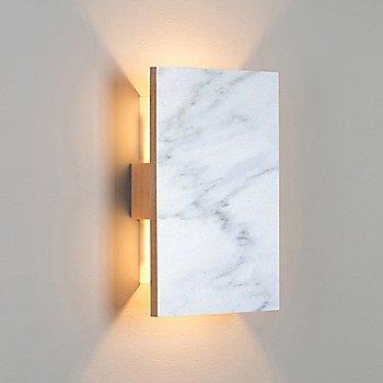 Carrara Marble/ Maple