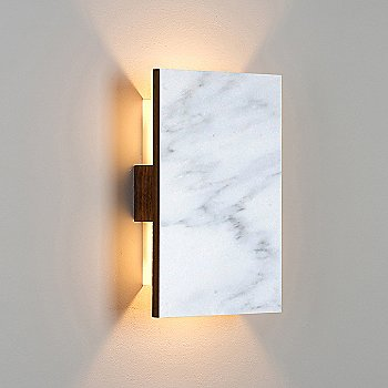 Carrara Marble/ Walnut