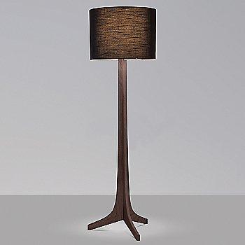 Black Amaretto shade, Dark Stained Walnut wood finish