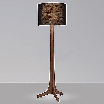 Black Amaretto shade, Walnut wood finish