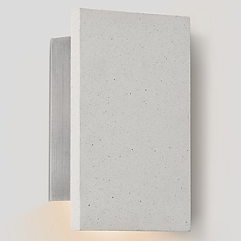 White Concrete finish / illuminated