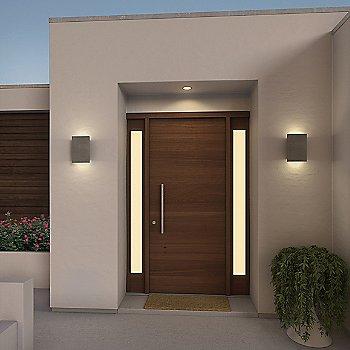 Black Concrete finish / illuminated / in use