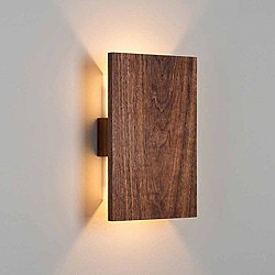 Tersus LED Wall Sconce by Cerno(Walnut/3500)-OPEN BOX RETURN
