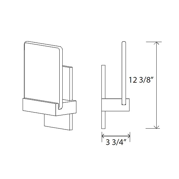 Fortis LED Wall Sconce