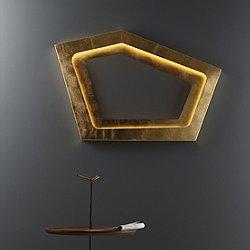 Nura LED Wall Sconce (Gold Leaf) - OPEN BOX RETURN