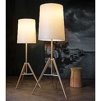 Tripod Floor Lamp, Collection, in use