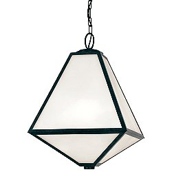 Glacier Outdoor Pendant by Crystorama - OPEN BOX RETURN