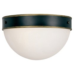 Capsule Outdoor Flush Mount Ceiling Light