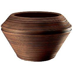 Daniel Round Planter (Rust/22 Inch) - OPEN BOX RETURN