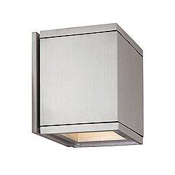 Cube Wall Light (Solid Insert/Solid Insert)-OPEN BOX RETURN
